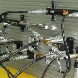 Rebitador industrial hidropneumático em aço inox
